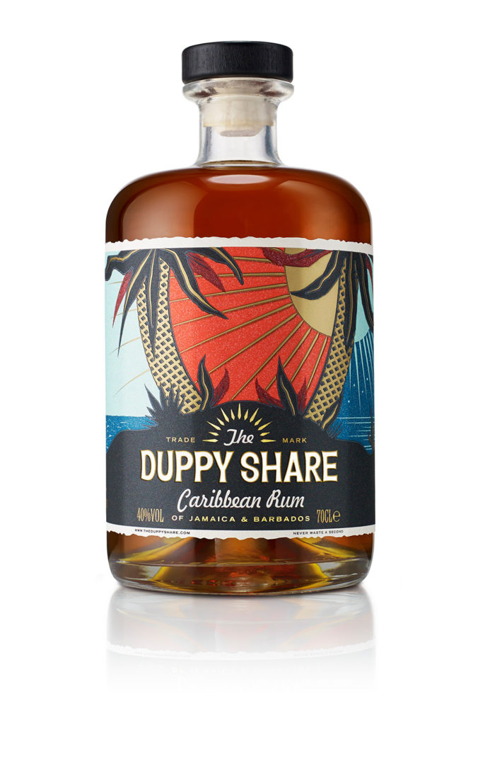 With a wink and a nod toward the wayward duppies that steal their share of rum maturing in oak barrels, this new premium rum from Westbourne Drinks Company of London features a fine blend of aged rums from Jamaica and Barbados.