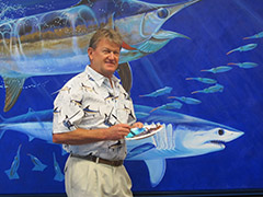 Guy Harvey marine artist