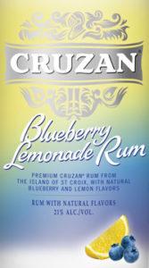 Cruzan Blueberry Lemonade Rum - CruzanBlueberryLemonade200