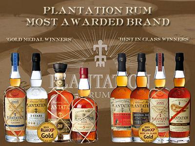 Plantation Award Winning Rums