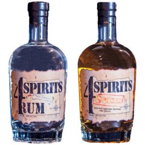 4 Spirits Rum - Creating craft white rum and spiced rum in Oregon, Dawson Officer's 4 Spirits Distillery seeks to honor fallen war veterans.