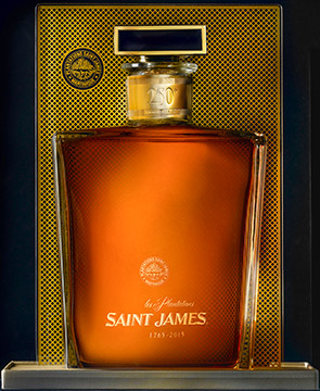 250th anniversary - Saint James will release a limited edition commemorative bottling of some of their finest vintage rums in celebration of the 250th anniversary of this notable Martinique spirit in July, 2015.