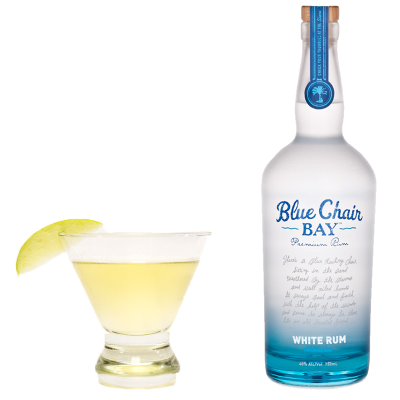 The Indian Summer cocktail combines Blue Chair Bay White Rum with apple cider and lime juice, plus a touch of agave nectar to deliver a lazy late summer libation.