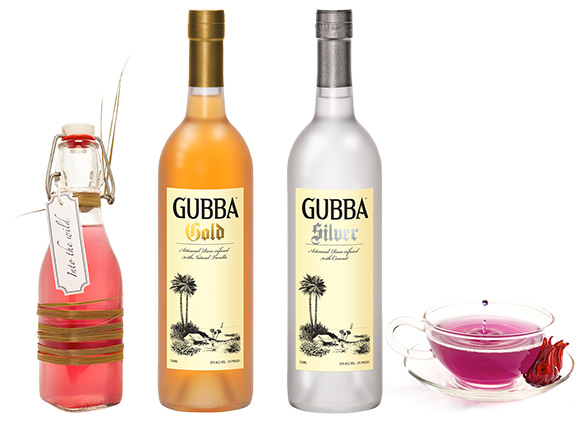 Gubba flavored rums - The Gubba small batch artisanal rums feature subtle notes of coconut in the silver expresion and creamy natural vanilla in the gold expression.