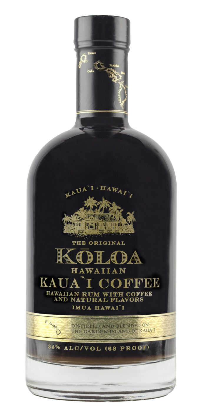 Another delightful rum expression from Hawaii announced: Koloa's Kaua`i Coffee Rum brilliantly integrates Kauai-grown coffee with artisanal rum.