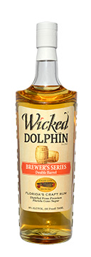 A new collaboration between Cigar City Brewing and Cape Spirits has Wicked Dolphin aged rum finished in beer barrels for a unique flavor profile.