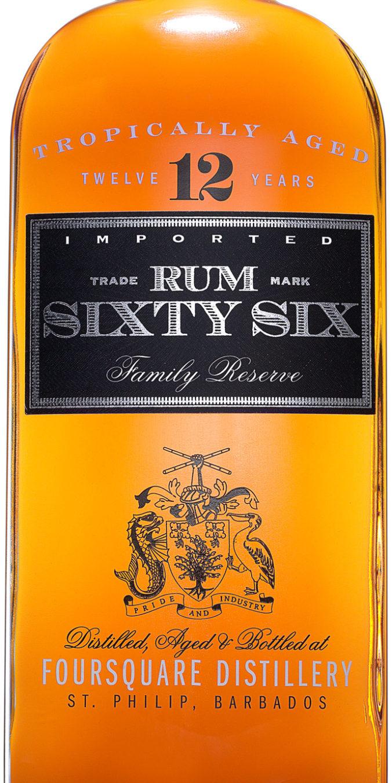 Rum 66 Label