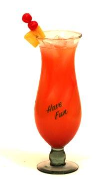 rum cocktails - hurricane rum cocktail
