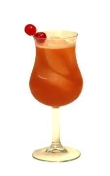 rum cocktails - Planter's Punch cocktail