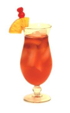 rum cocktails - Zombie cocktail