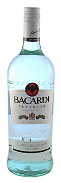 Types of Rum - Bacardi Superior white rum