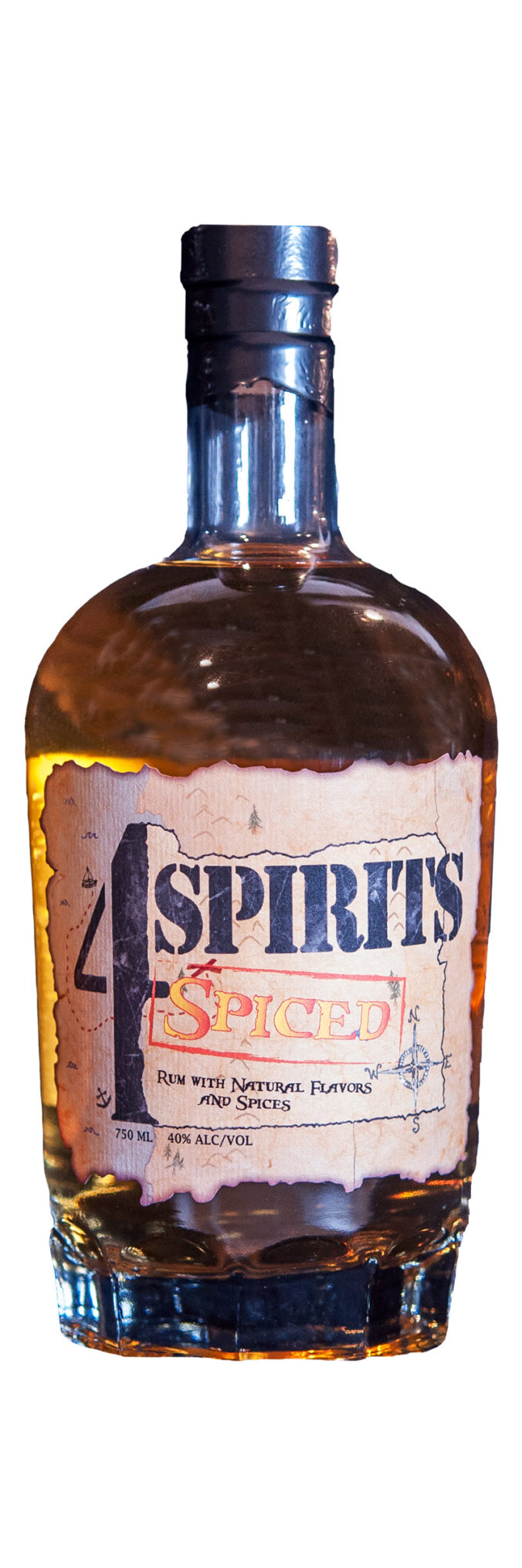 4 Spirits Spiced Rum from Oregon