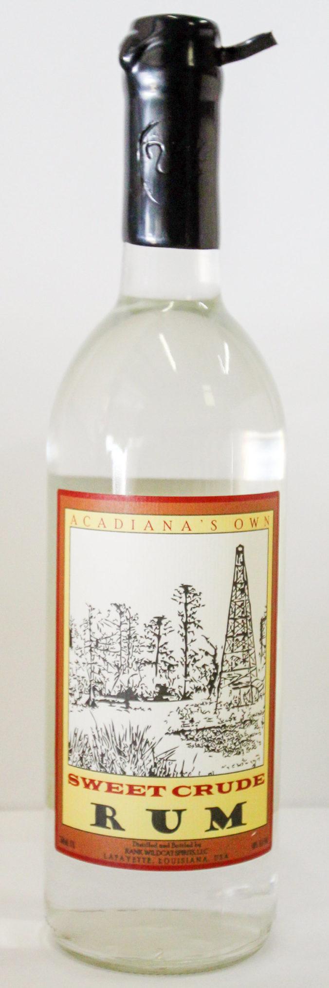 Acadiana's Own Sweet Crude Rum from Louisiana