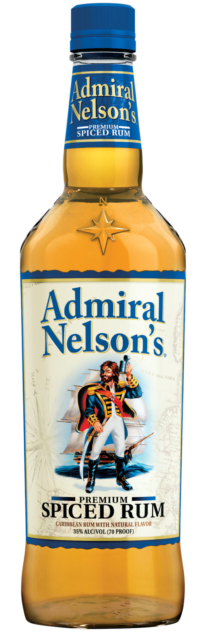 Admiral Nelson Spiced rum from US Virgin Islands