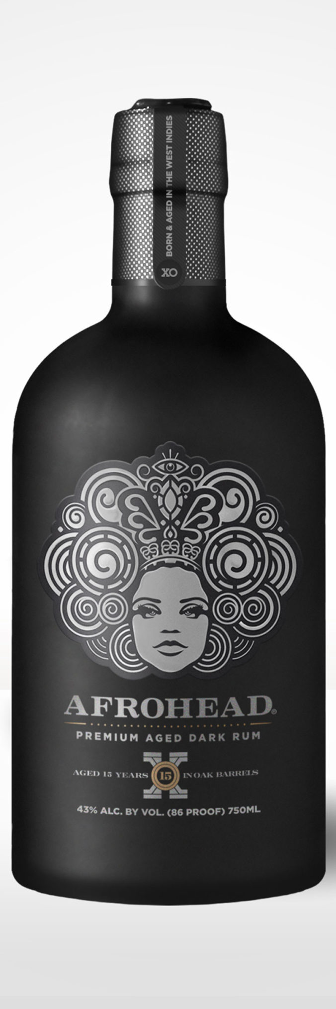 Afrohead Extra Old aged rum from Trinidad