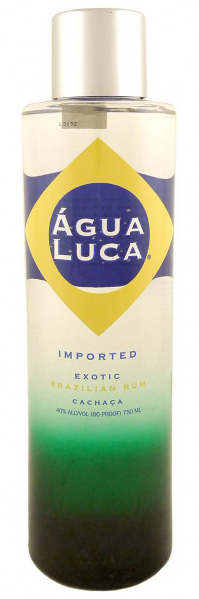 Agua Luca cachaça from Brazil