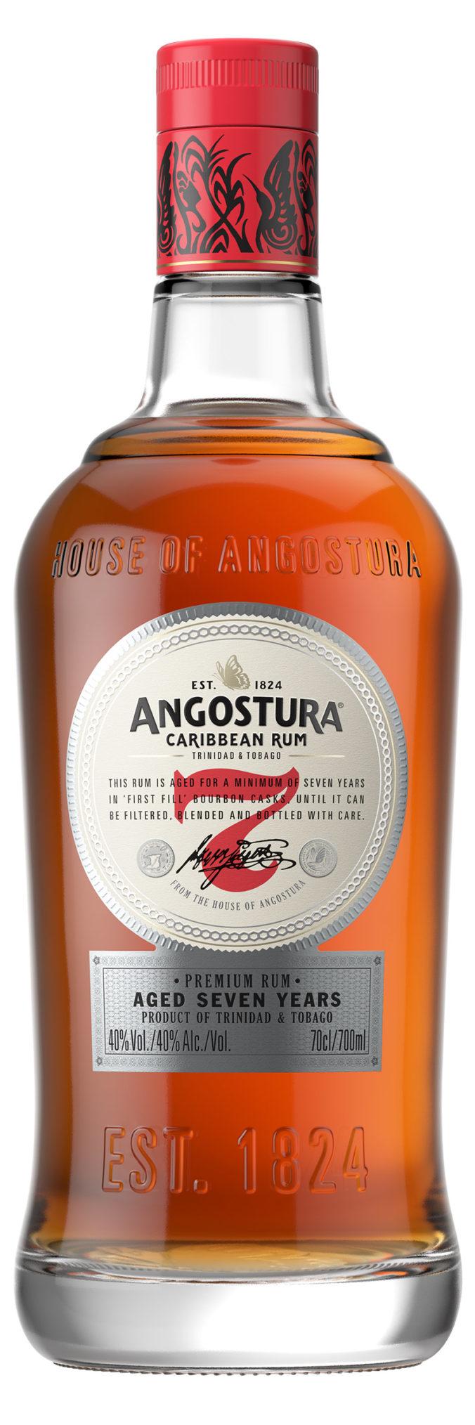 Angostura 7 year old Premium Rum from Trinidad