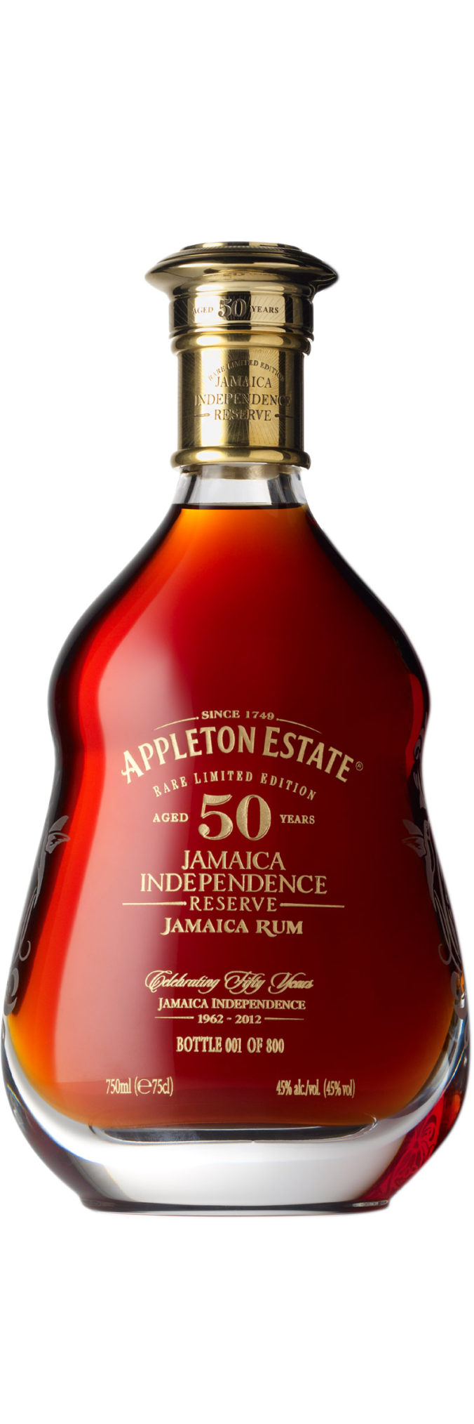 Appleton Estate Rare Limited Edition 50 year old Jamaica Independence Reserve aged rum