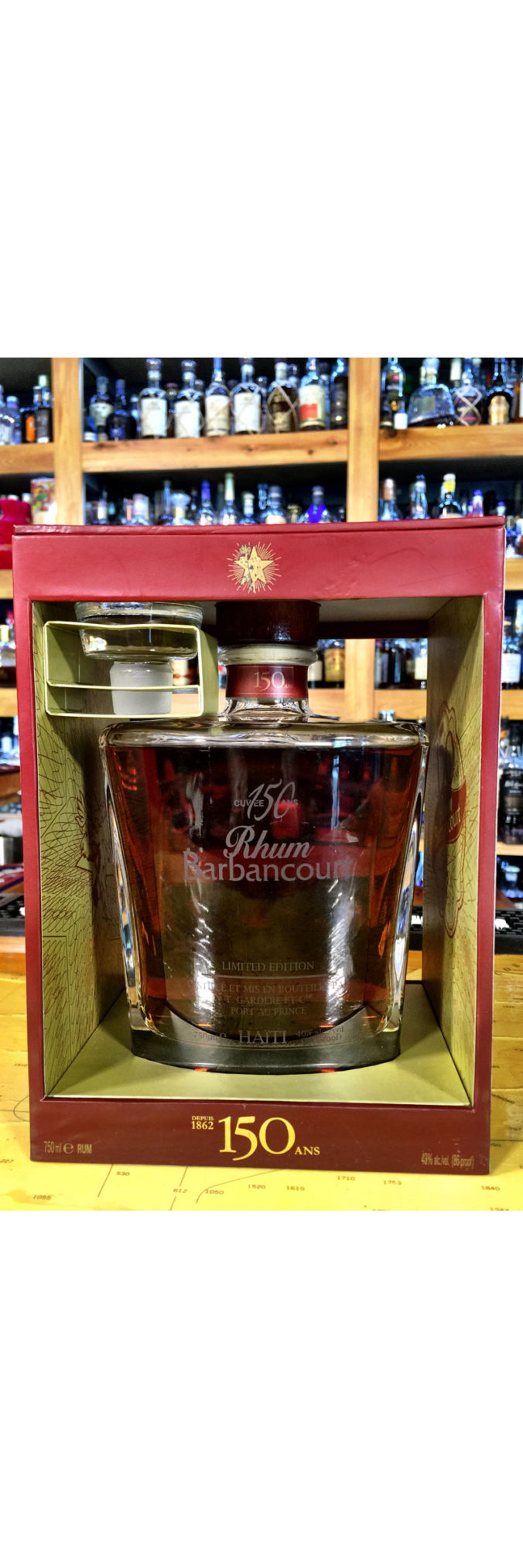 Barbancourt 150th Anniversary special Edition rum from Haiti