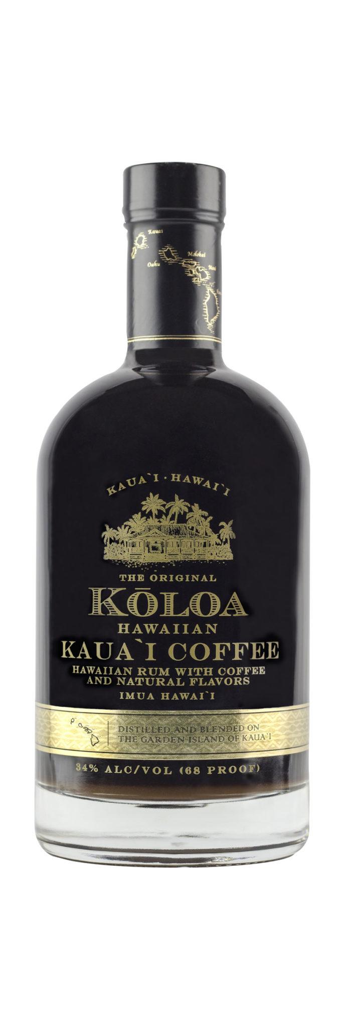 Koloa Hawaiian Kauai Coffee flavored rum