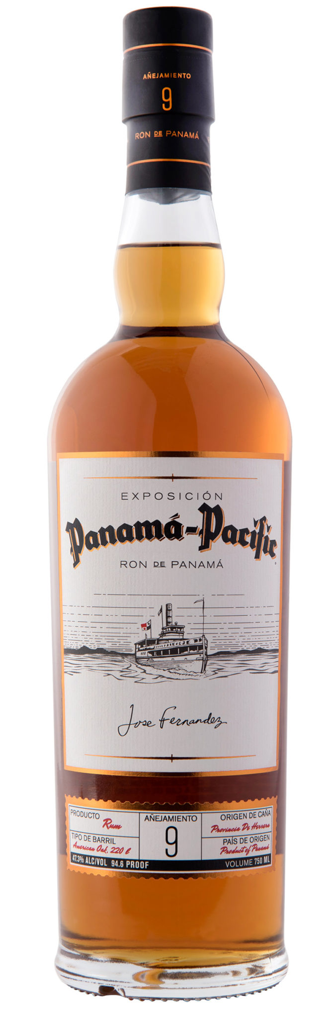 Panama-Pacific 9 year old aged rum from Panama celebrates the Pacific Exposition of San Francisco in 1915, the Panama Canal and the long history of Haas Brothers in California.