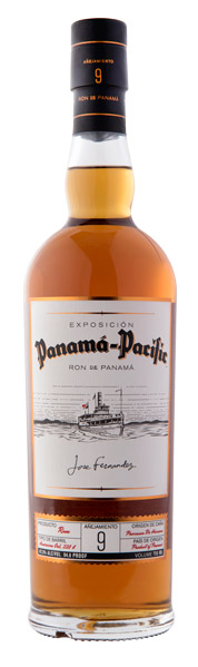 Panama-Pacific 9 year old aged rum from Panama celebrates the Pacific Exposition of San Francisco in 1915, the Panama Canal and the long history of Hass Brothers in California.