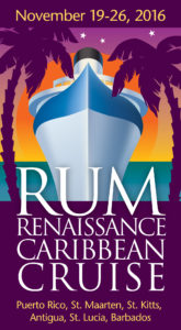 The 2016 Rum Renaissance Caribbean Cruise offers VIP distillery tours, departing November 19.