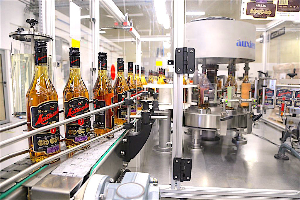 The bottling line in their new Dominican Republic manufacturing facility allows Matusalem rum to expand their production capacity while maintaining the legacy Cuban formula that makes their solera style rum a favorite in many countries.