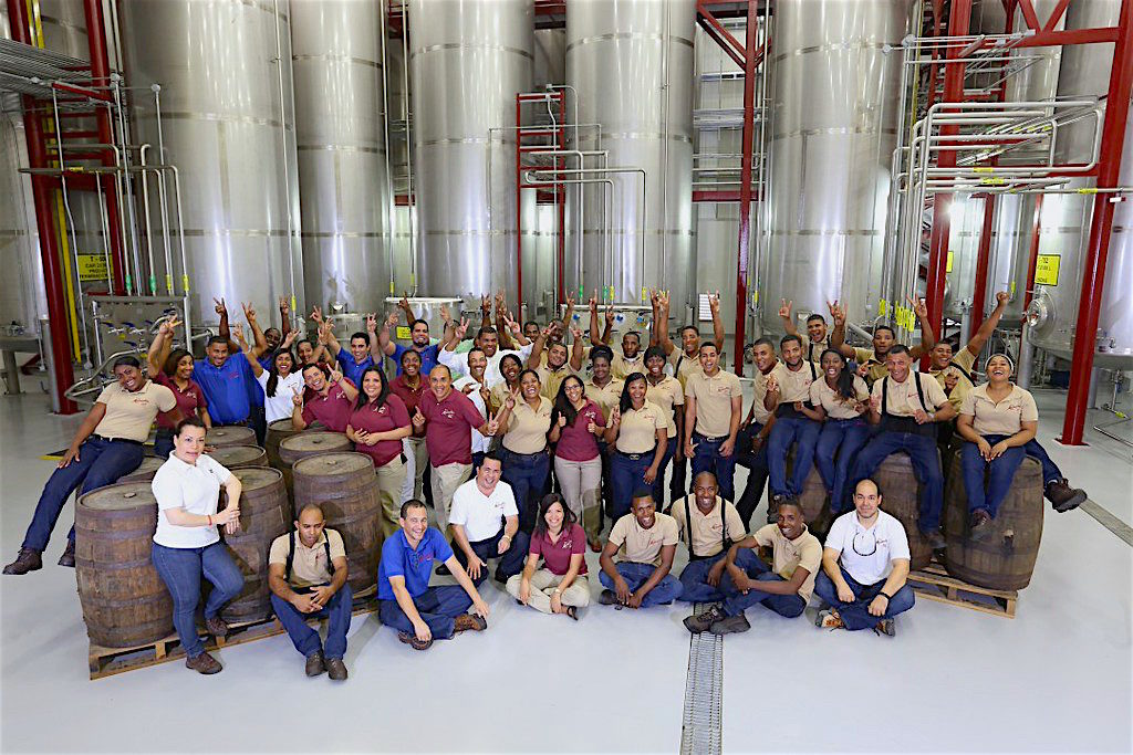 The production team at Matusalem's new manufacturing facility in Dominican Republic.