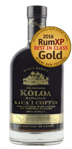 A delightful rum expression from Hawaii: Koloa's Kauai Coffee Rum brilliantly integrates Kauai-grown coffee with artisanal rum.