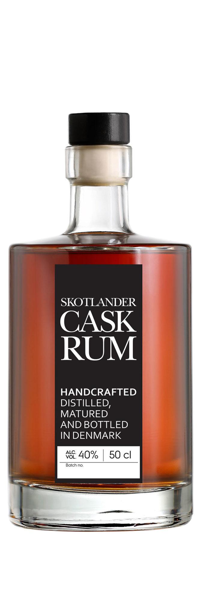Skotlander Cask aged rum from Denmark