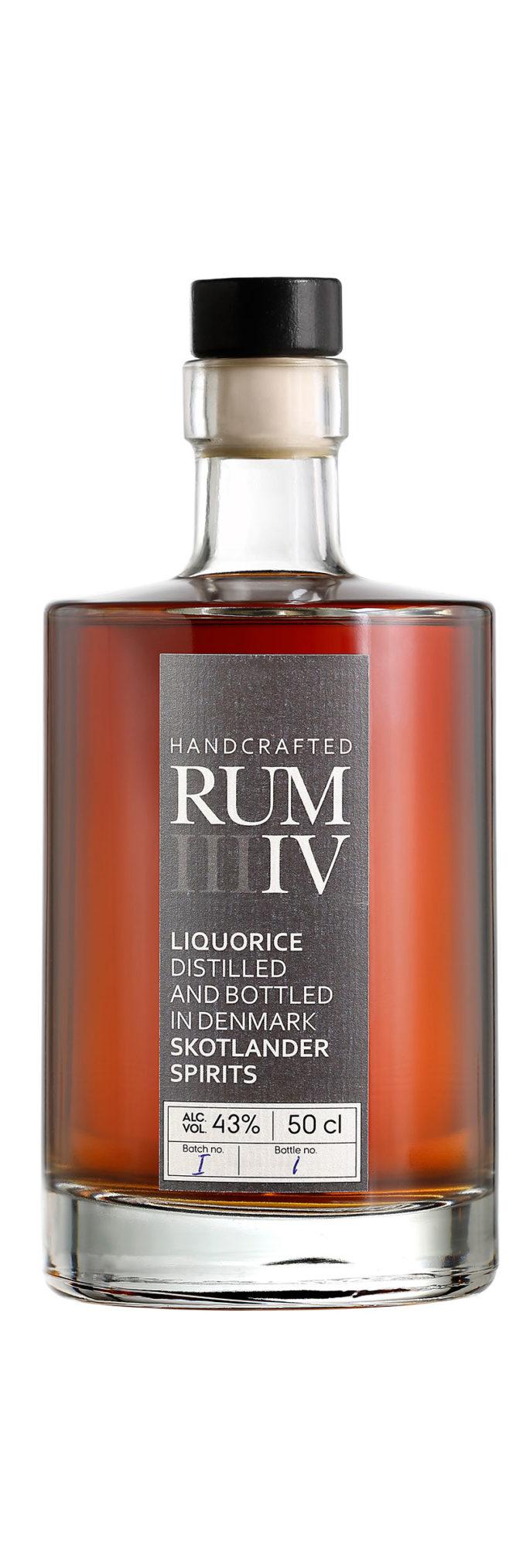 Skotlander Liquorice rum from Denmark