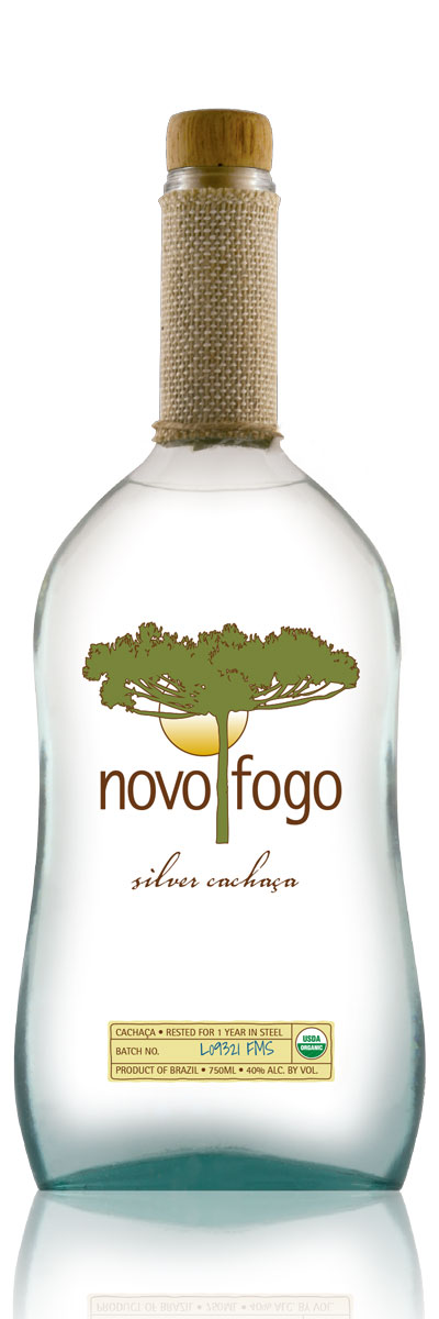 A fine example of modern Brazilian spirit, Novo Fogo Silver Cachaça delivers true cane flavors, tropical notes and smooth mouth feel.
