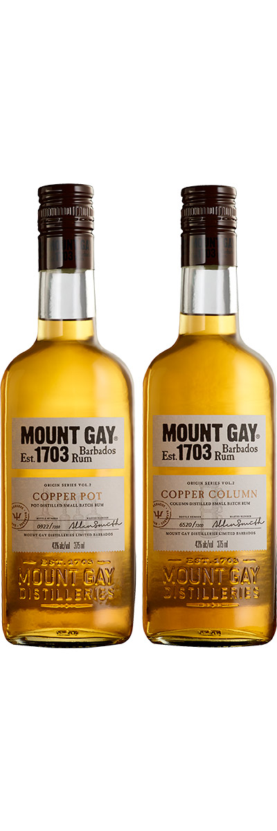 Origin Series Copper Stills - Mount Gay Rums from Barbados