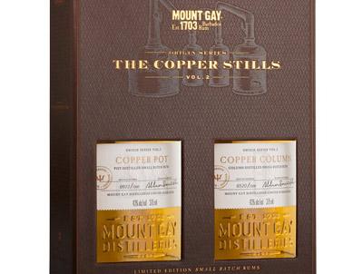 Origin Series, Copper Stills, Mount Gay rum from Barbados