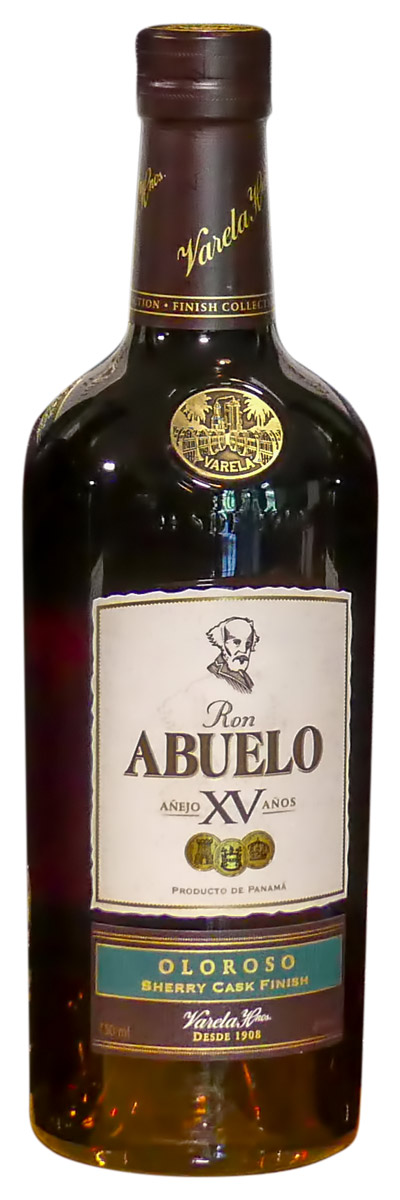 Abuelo Añejo XV Años Oloroso Sherry Cask Finish