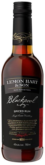 Lemon Hart & Son's Blackpool Spiced Rum