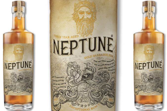 Neptune Three Year Aged Gold Barbados Rum