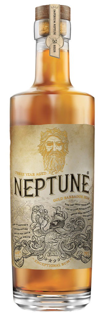 Neptune Three Year Aged Gold Barbados Rum Image