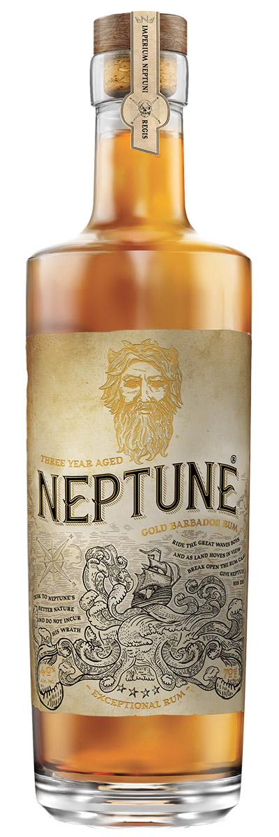 Neptune Three Year Aged Gold Barbados Rum