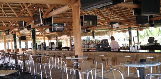 Tiki Bar at Gulfstream Park