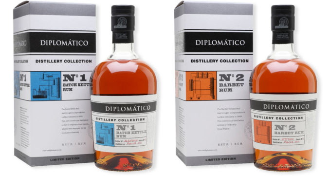 Diplomático Distillery Collection - batch kettle and barbet column still rums
