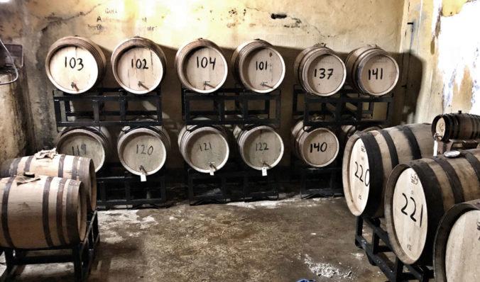 Skotlander Rum aging in WWII bunkers