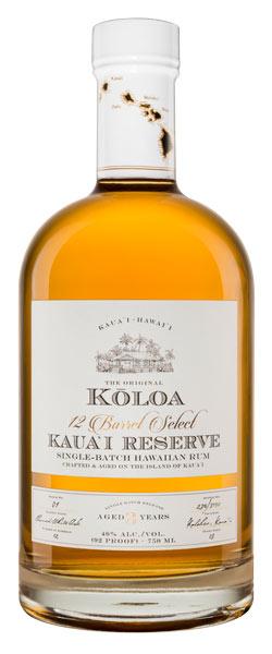 Kauai Reserve Three-Year Aged Hawaiian Rum