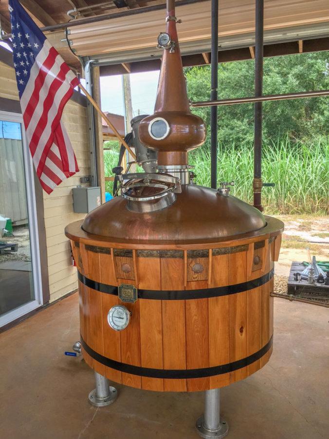 Sugar Sand Distillery Copper Pot Still