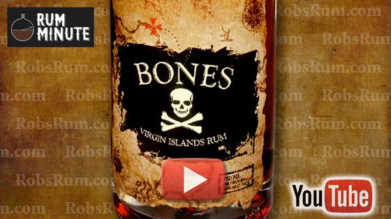 Bones Aged Rum from U.S. Virgin Islands