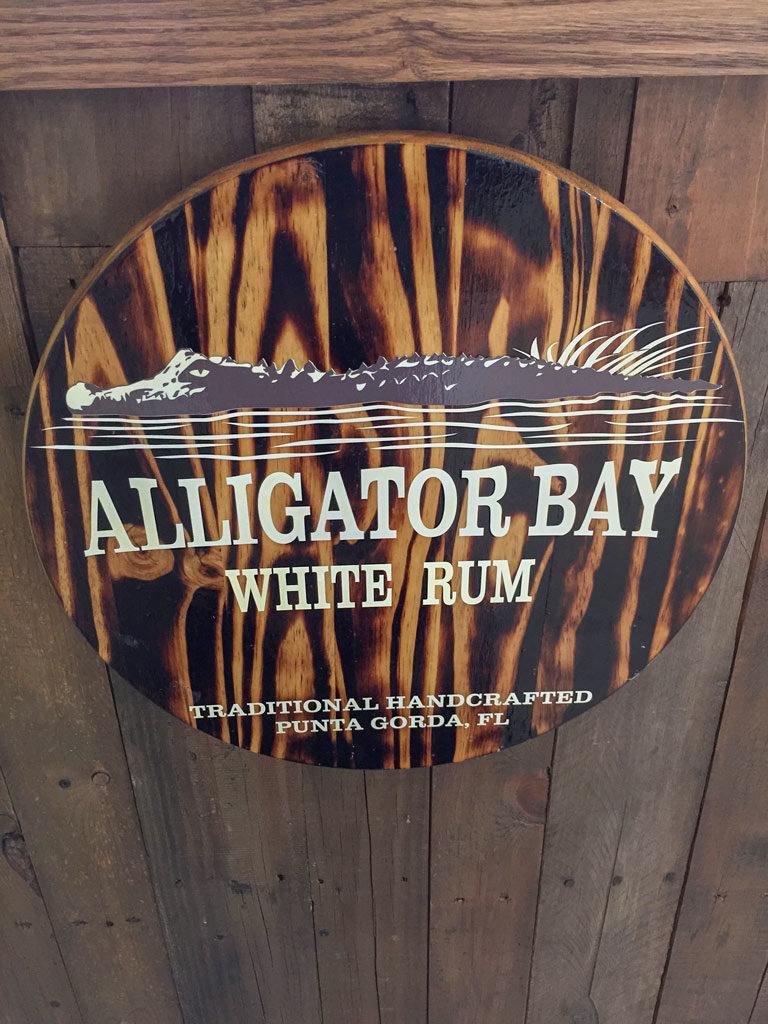 Alligator Bay sign