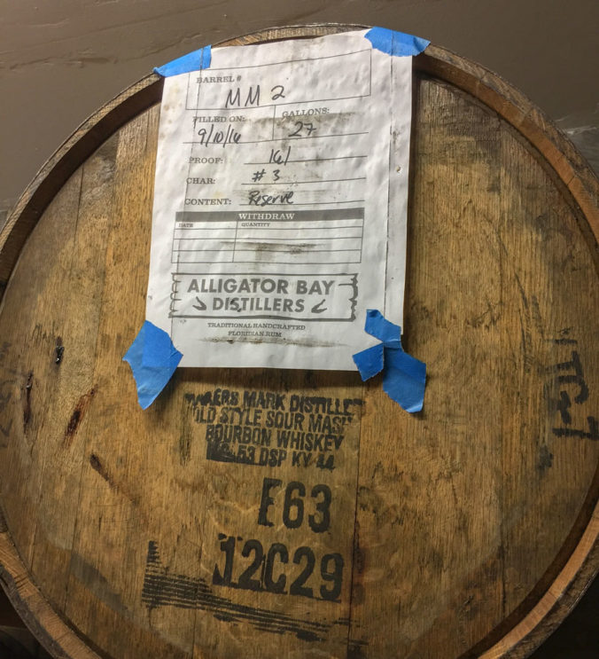 barrel of rum
