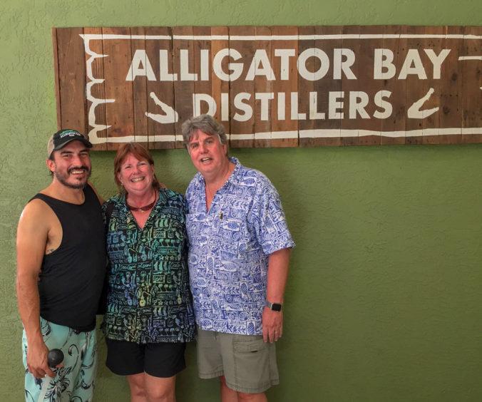 Alex Voss at Alligator Bay Distillers
