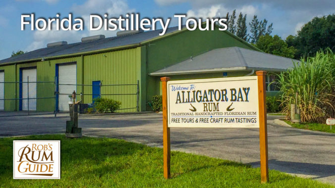 Florida Rum Tour - Alligator Bay Distillers in Punta Gorda